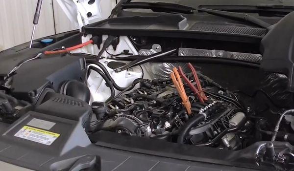 Газовая установка на Audi Q5 2018