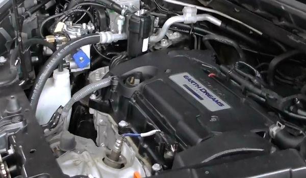 Газовая установка на Honda CR-V 2.4 Earthdreams