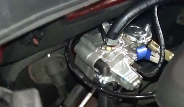 Газ на Hyundai Sonata 2.4 GDi