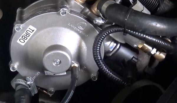 Установка гбо на KIA Sorento 2.4 Turbo GDI
