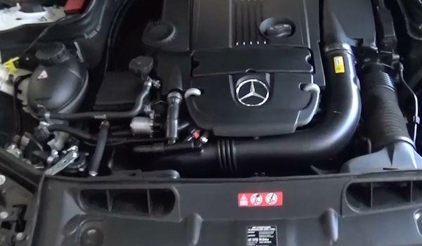 Установка гбо на Mercedes-Benz C250