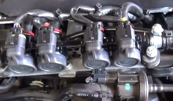 Газ на Skoda Yeti 1.8 TSi