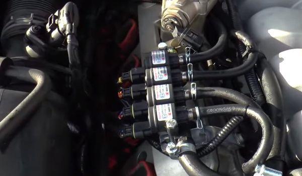 Установка гбо на Volkswagen Touareg V8 4.2 FSI